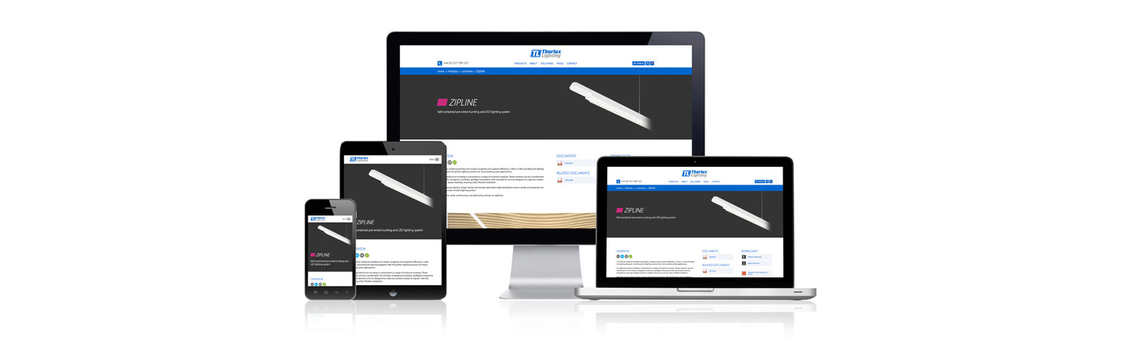 Thorlux Launches New Responsive Website